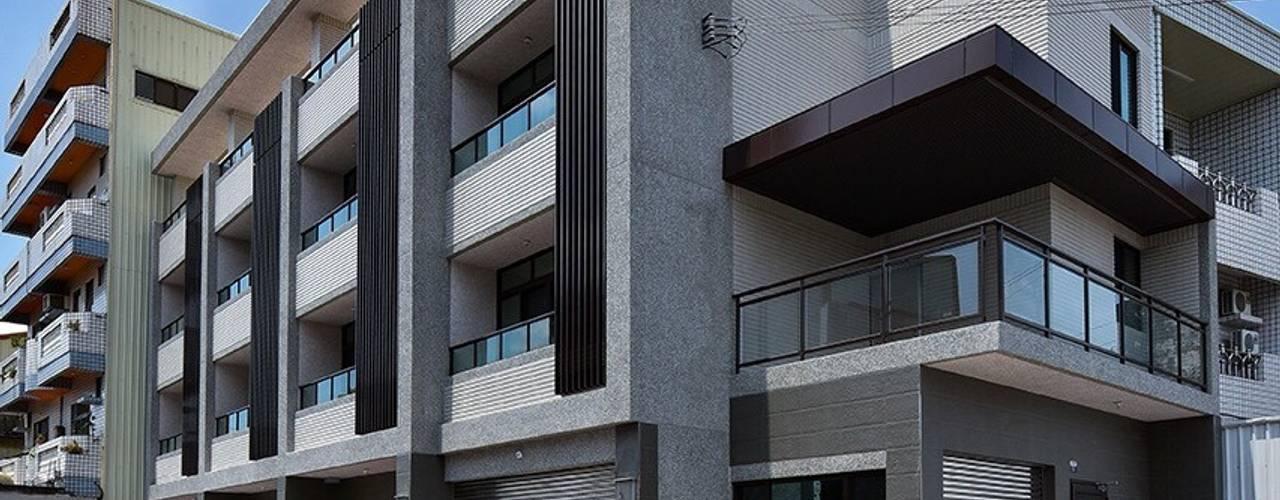 溪福金品 讚基營造有限公司 現代房屋設計點子、靈感 & 圖片