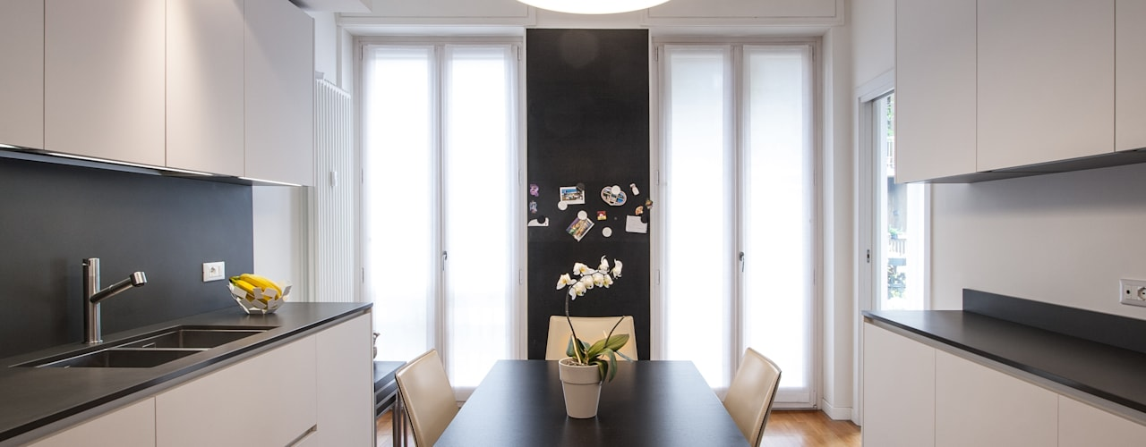 Cocinas integrales de estilo  por Chantal Forzatti architetto, Moderno