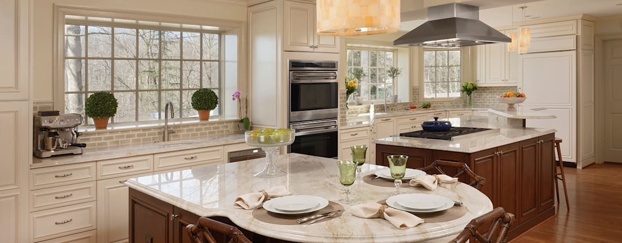 """Cook's Kitchen"" Renovation in Potomac, Maryland:  Kitchen by BOWA - Design Build Experts"