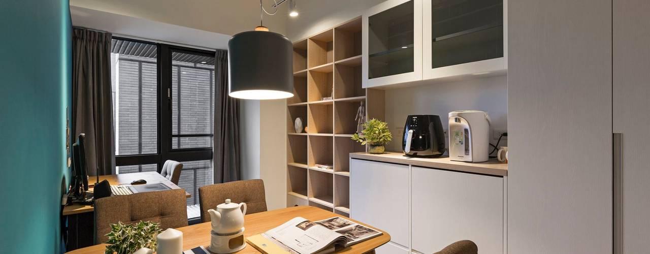 غرفة السفرة تنفيذ 築川設計