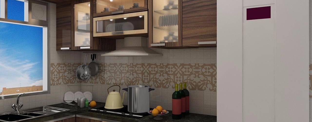 مطبخ تنفيذ Creazione Interiors