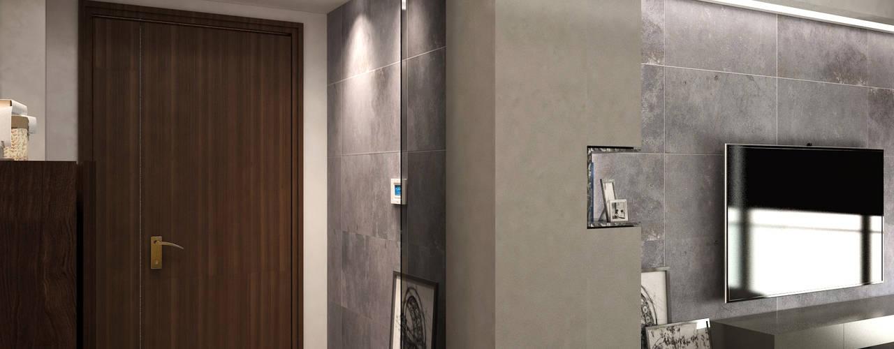 Living room by Nelson W Design, Modern