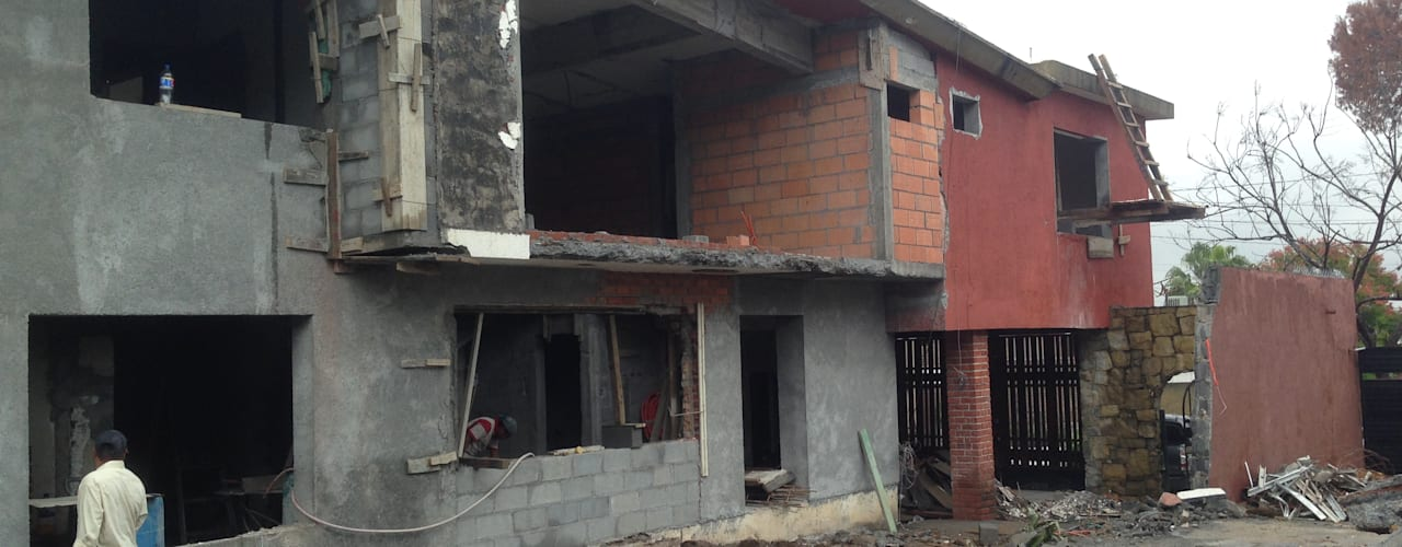 Nowoczesne domy od AYALA Proyectos y Construccion Nowoczesny