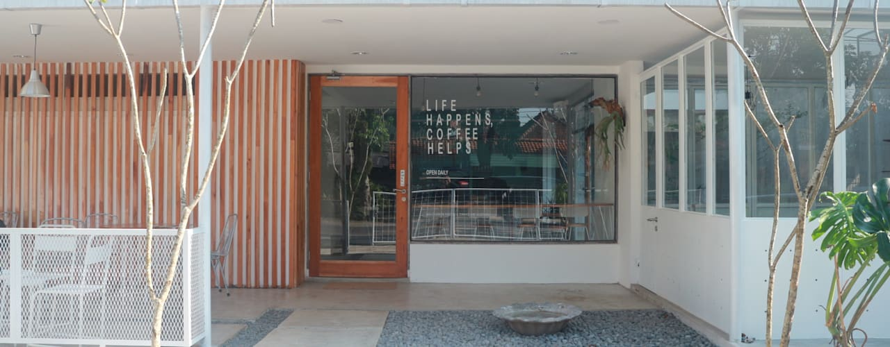 ADITI Coffee House & Space Oleh Lukie Widya - LUWIST Spatial