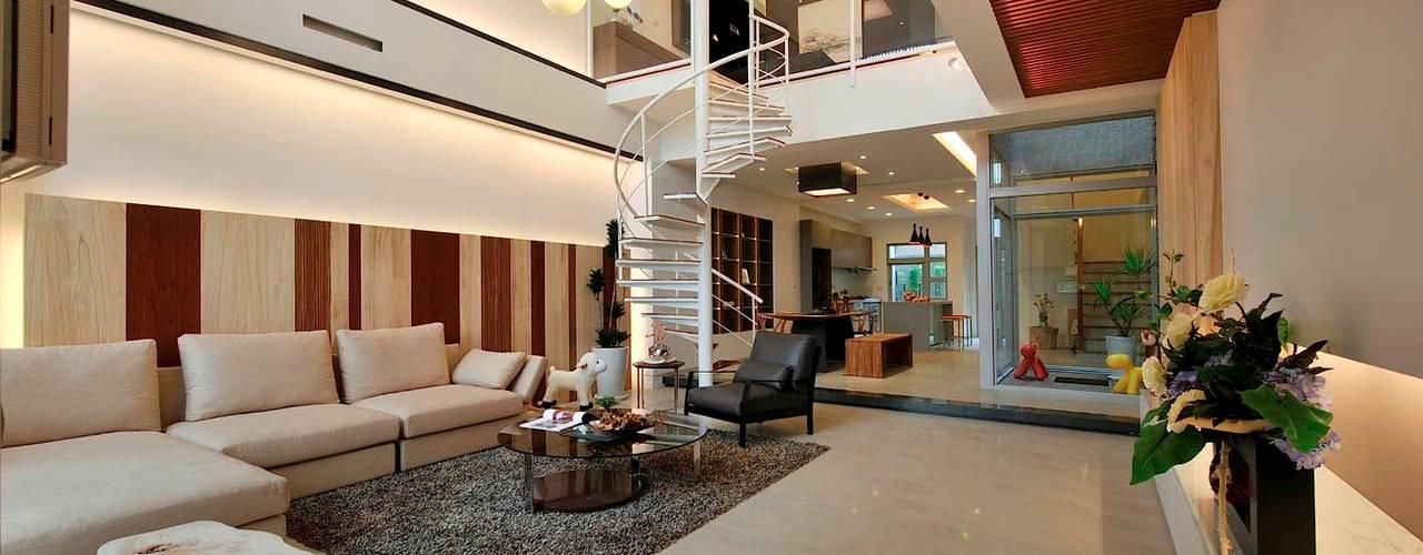 Projekty,  Salon zaprojektowane przez EO design studio