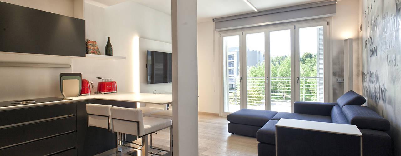 Interior design e arredamento per appartamento moderno a for Subito varese arredamento