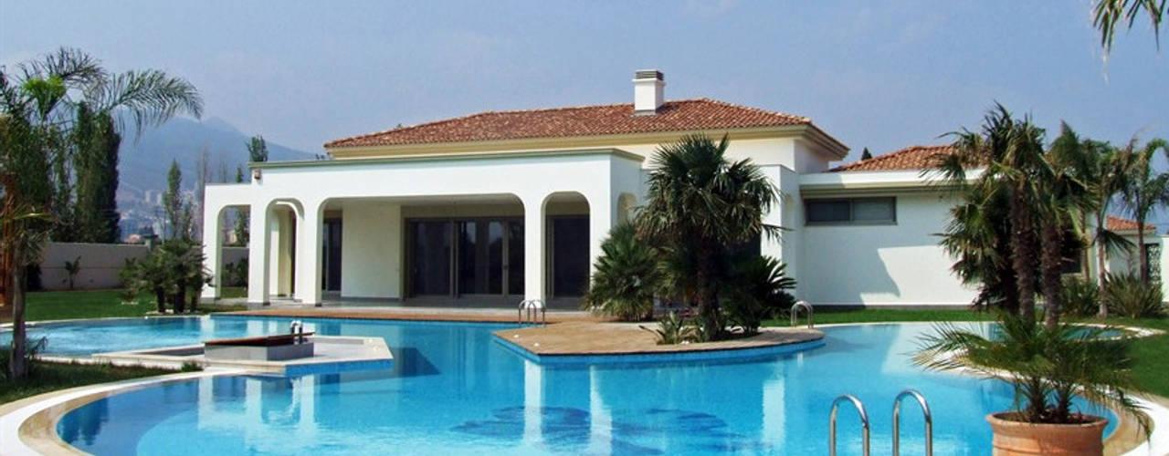 M.U EVİ Arkayın Mimarlık Modern Havuz