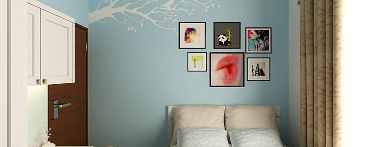 Kamar Anak Akilla Concept DormitoriosAccesorios y decoración Madera maciza Azul