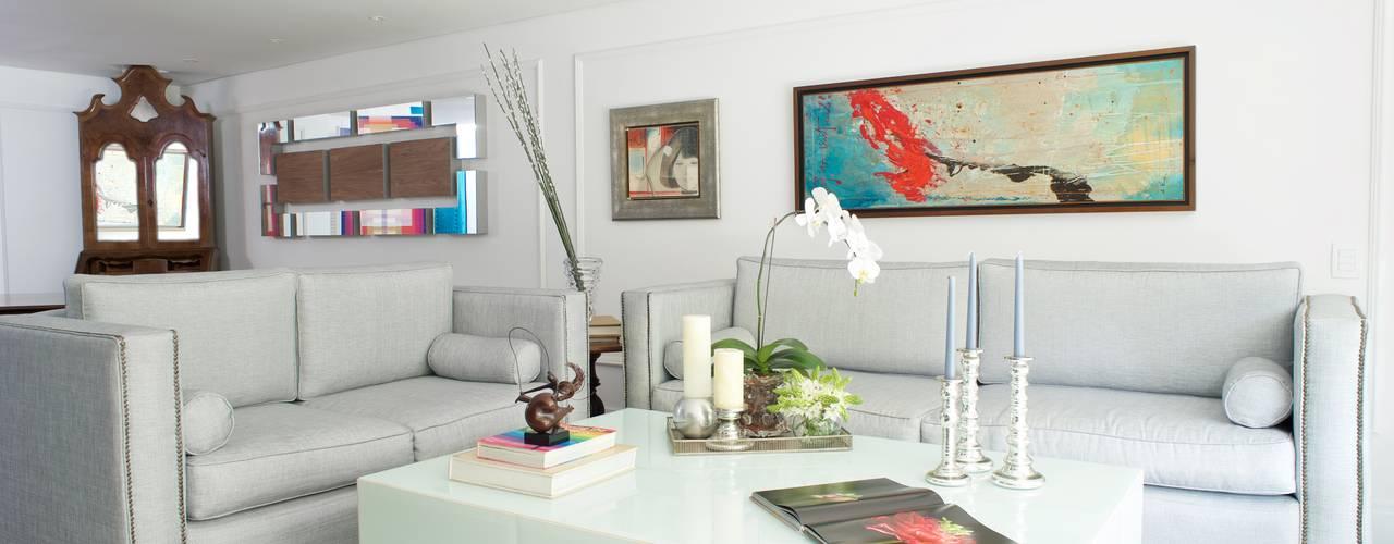 PB La Castellana Pic & Deco Salas de estilo moderno Gris