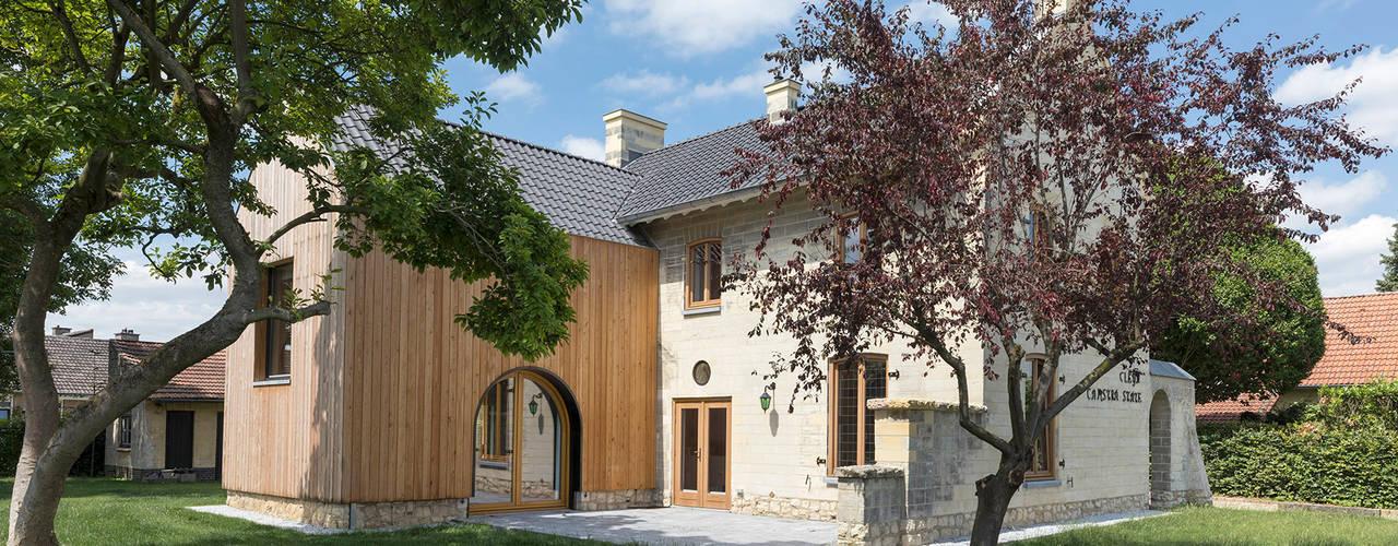 Zonneterras:  Rijtjeshuis door De Nieuwe Context