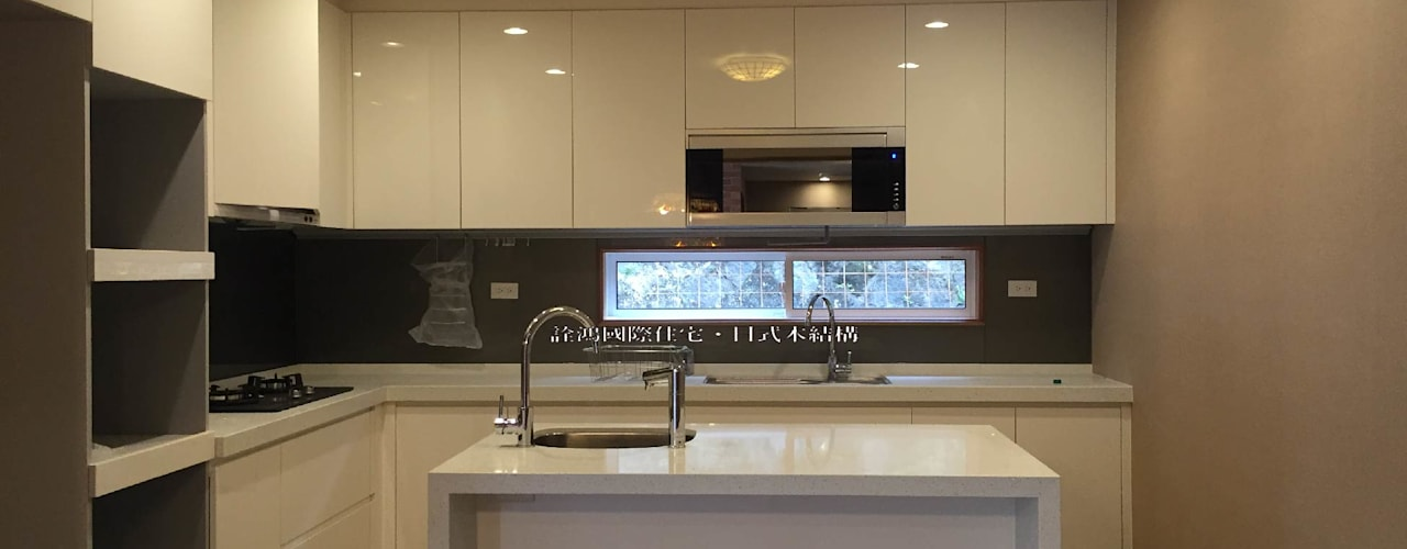 客製化設計-歐風別墅-日式健康綠建築 根據 詮鴻國際住宅股份有限公司 日式風、東方風