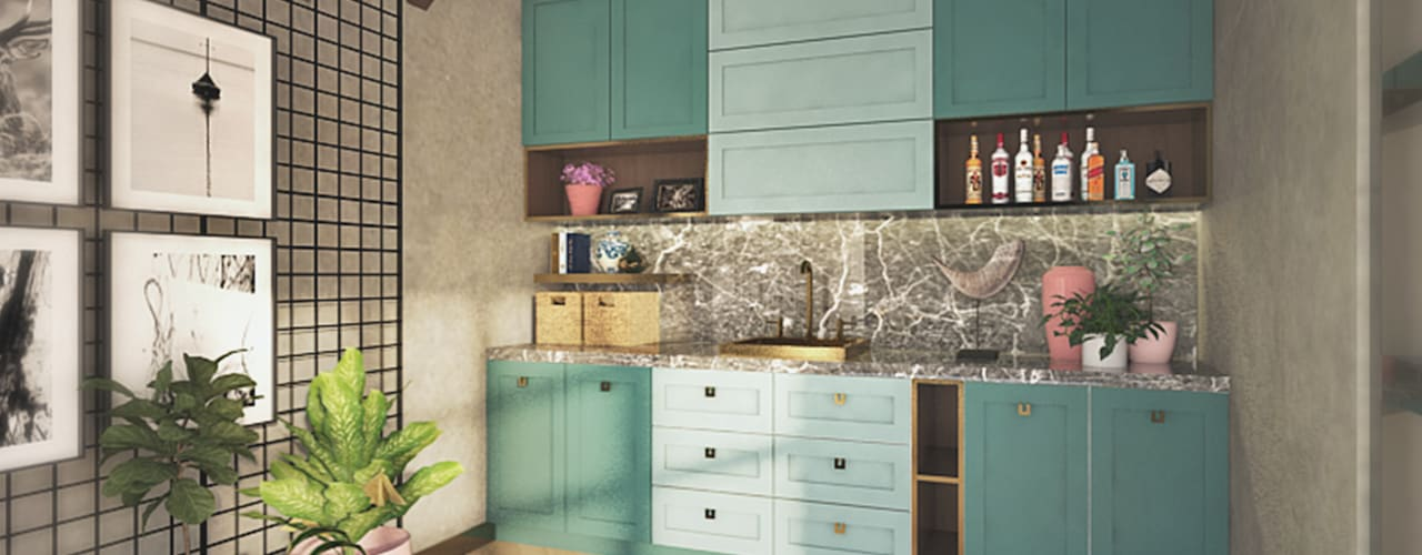 Kitchen: Dapur oleh Veon Interior Studio, Skandinavia