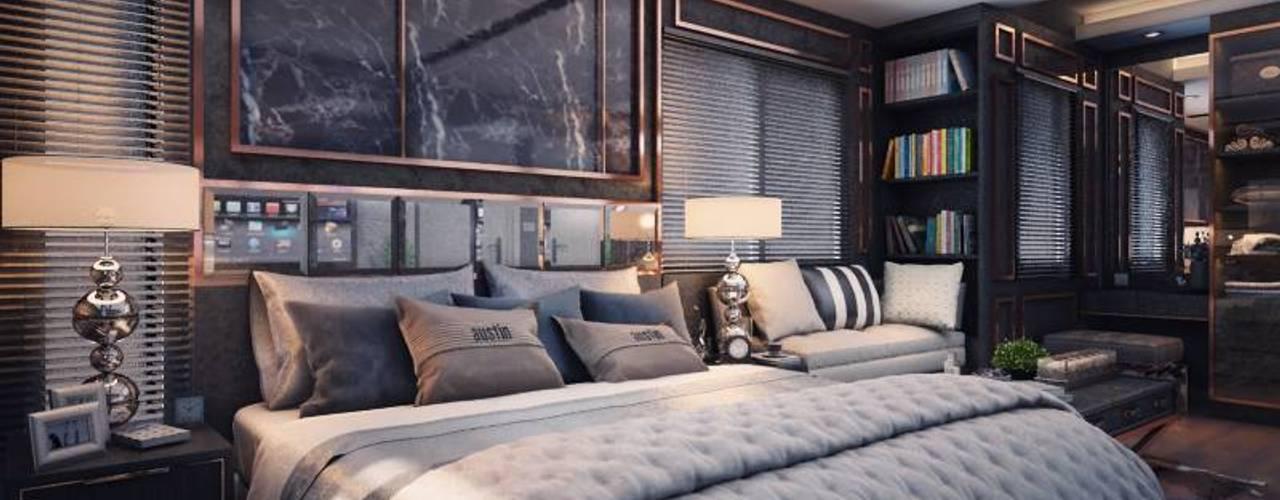โครงการออกแบบตกแต่งภายใน บ้านพักอาศัย 2 ชั้น inizio 2 โดย บริษัทเกรี้ยวกราดดีไซน์จำกัด
