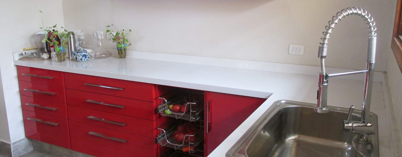 Cocina Minimalista:  de estilo  por ABS Diseños & Muebles
