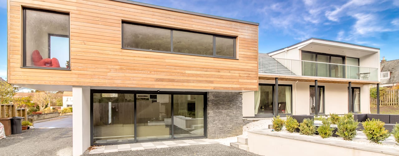 Contemporary Alteration and Extension, 4 Bramdean Grove, Edinburgh Oleh Capital A Architecture Modern