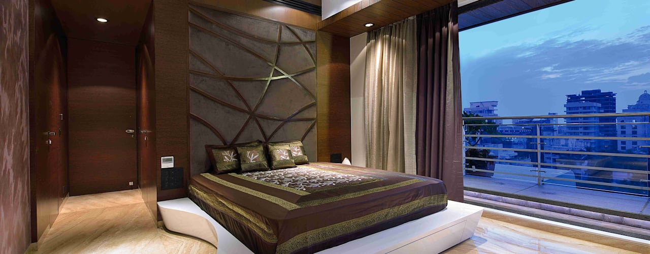 Madhuniketan 2: modern Bedroom by SM Studio