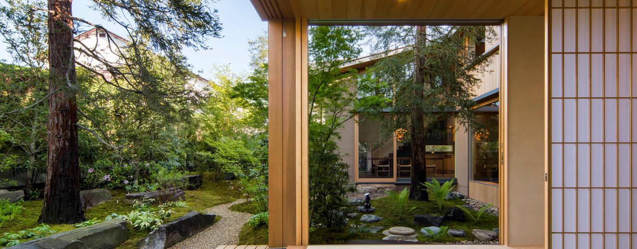 奈良の庭 モダンな庭 の 株式会社 荒木造園設計 モダン