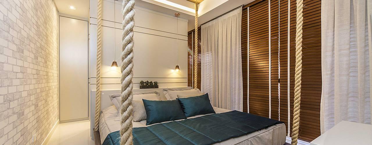 Modern Bedroom by Fernanda Patrão Arquitetura e Design Modern