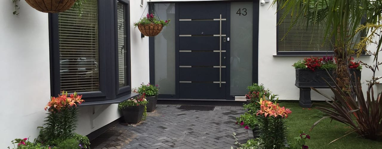 General Images RK Door Systems ประตูหน้า