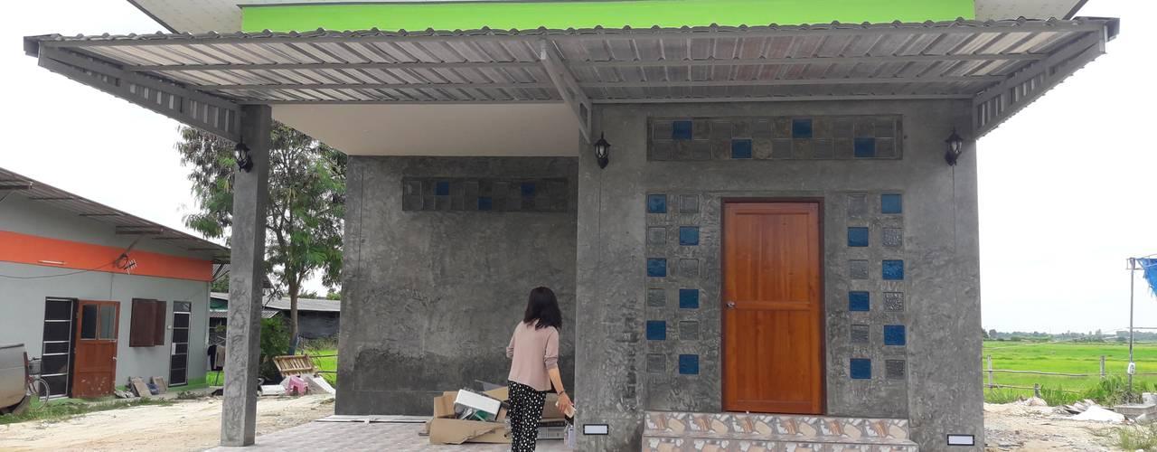 bởi ช่างณีมิตรรับซ่อมบ้านออกแบบต่อเติมรับเหมาก่อสร้าง Hiện đại