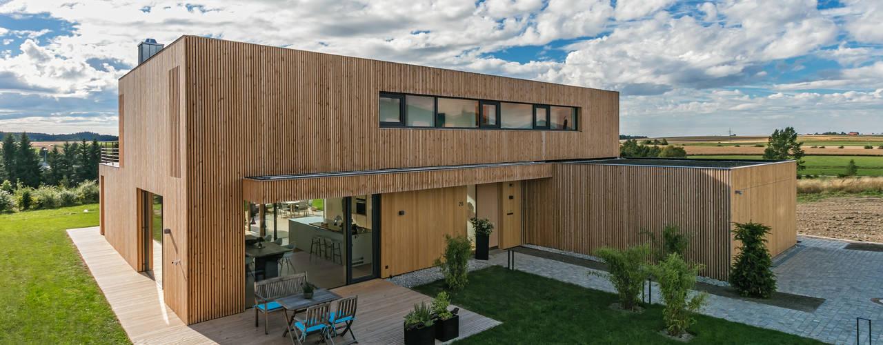 Wohnhaus bei Rottweil schwarzwälder design zieht ein