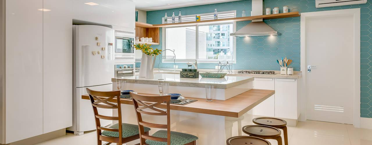 10 Cocinas Modernas Con Colores Frescos Y Alegres