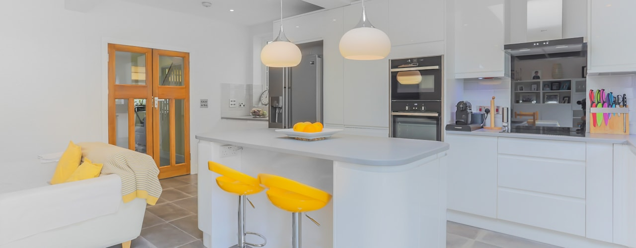 BEAUTIFUL, LIGHT KITCHEN EXTENSION IN LONDON Modern Dining Room by The Market Design & Build Modern