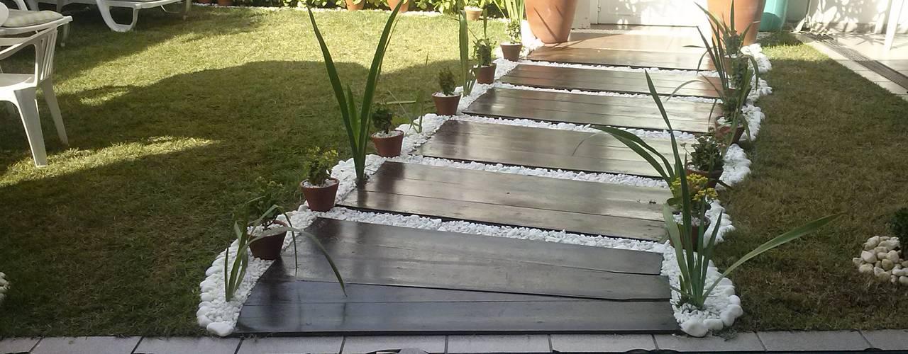 Modern Garden by STUDIO ROCHA ARQUITETURA E DESIGN DE INTERIORES Modern
