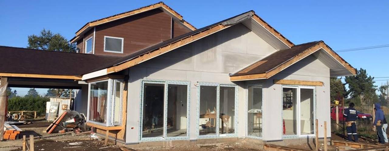 Casa botrolhue 150 m2 de AEG Arquitectura, Asesoría y Construcción. Clásico