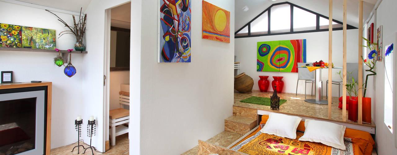 Phòng ngủ phong cách công nghiệp bởi RUSTICASA Công nghiệp