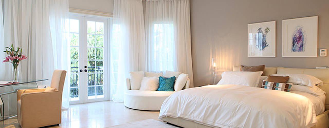 Elegancia Acogedora Habitaciones modernas de Claudia Luján Moderno