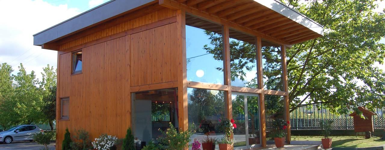RUSTICASA   Casa modelo   Vila Nova de Cerveira RUSTICASA Casas de madeira Madeira Acabamento em madeira