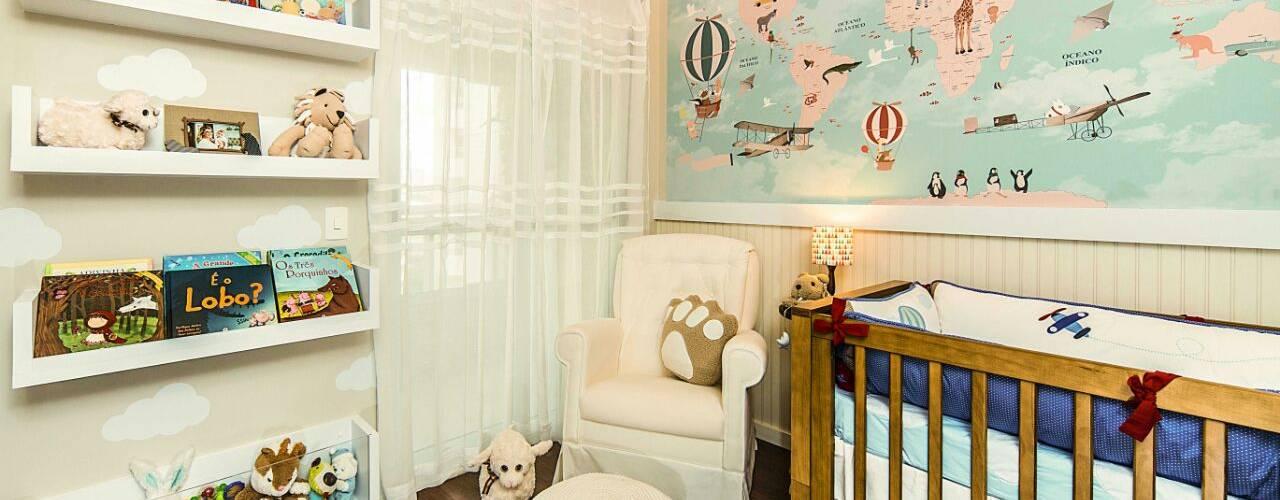 غرف الرضع تنفيذ Fernanda Patrão Design