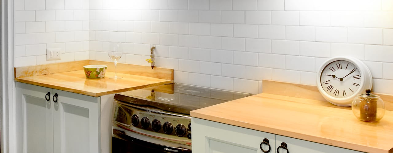 Tủ bếp theo ARCOP Arquitectura & Construcción, Thực dân