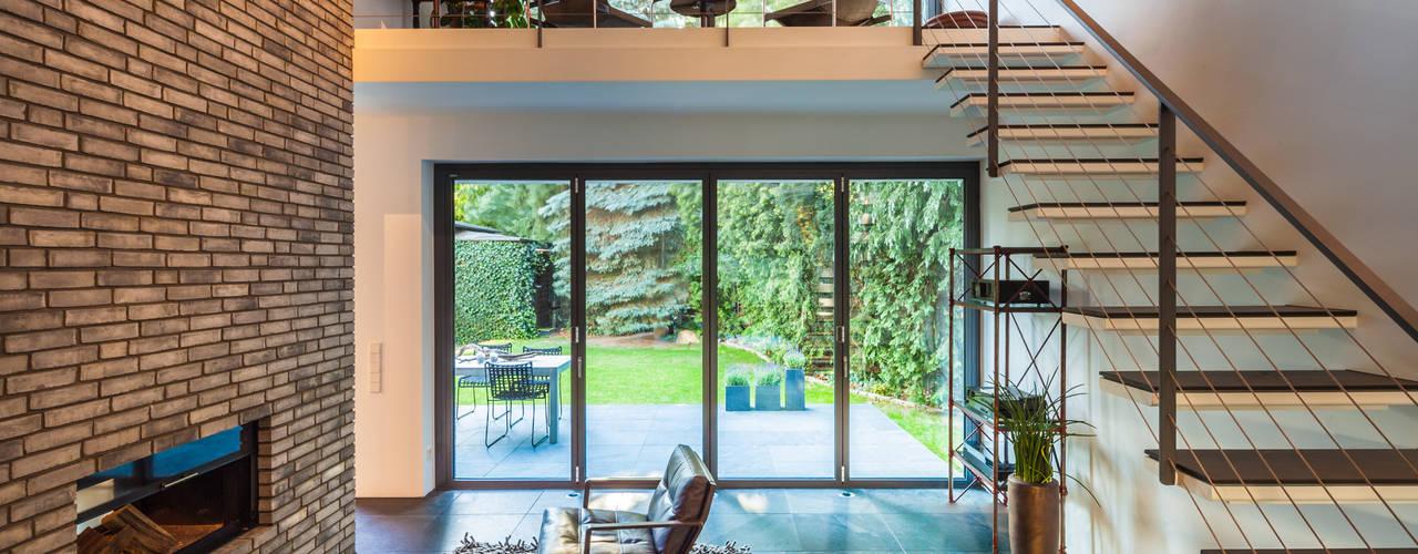 Phòng khách by Sieckmann Walther Architekten