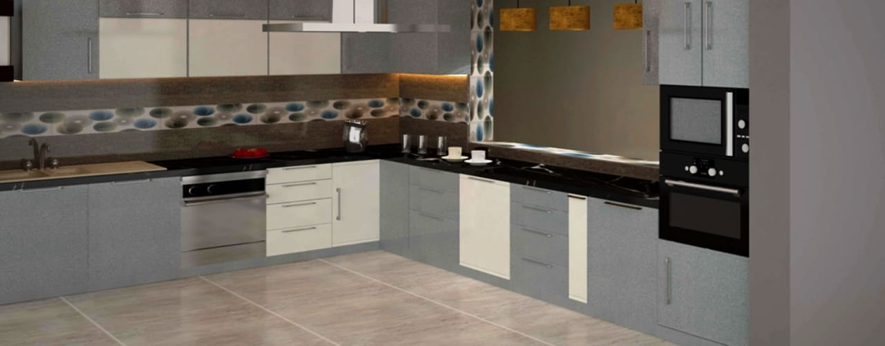 Residential 2: modern Kitchen by Falcon Resources