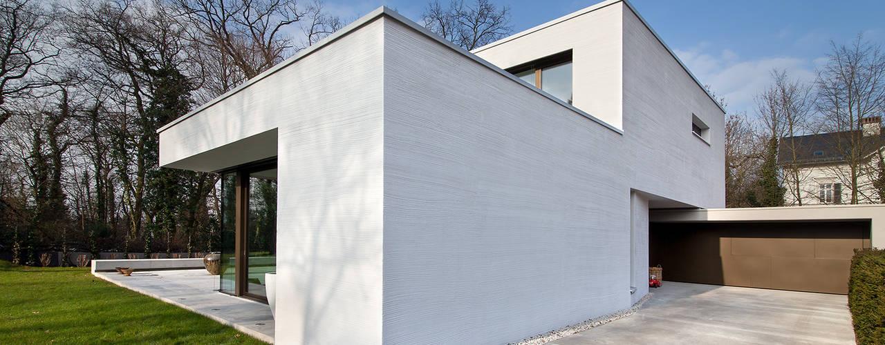 Wohnhaus H FFM-ARCHITEKTEN. Tovar + Tovar PartGmbB Moderne Häuser