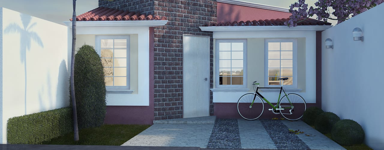 Houses by LUBAAL construcción y arquitectura , Colonial