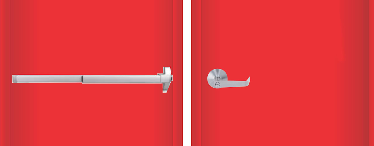 pintu emergency:modern  oleh PT. Golden Prima Sentosa, Modern