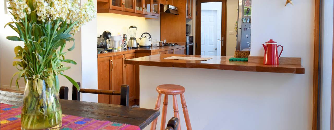 Remodelación Casa Matta Cocinas de estilo clásico de ARCOP Arquitectura & Construcción Clásico