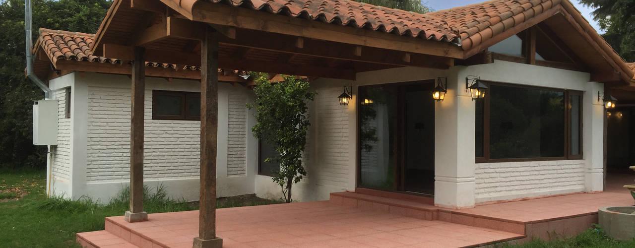 Remodelación Casa Mallarauco: Casas de estilo  por ARCOP Arquitectura & Construcción