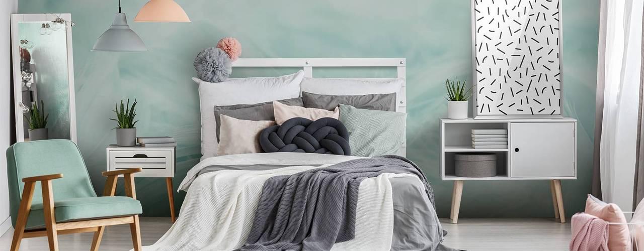 8 colores geniales para un dormitorio peque o for Dormitorios pequenos para adultos