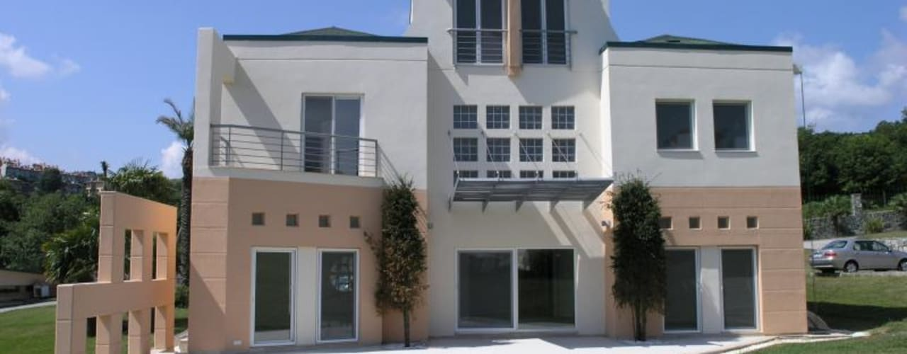 Modern houses by yürekliler san. tic. ltd. şti. Modern