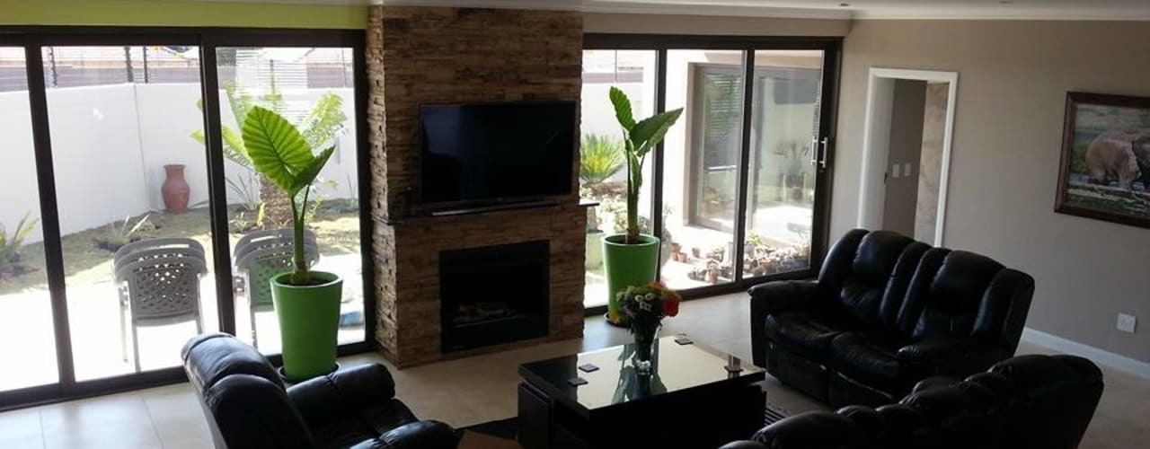 Salas multimedia modernas de A Fox Construction SA Pty Ltd Moderno