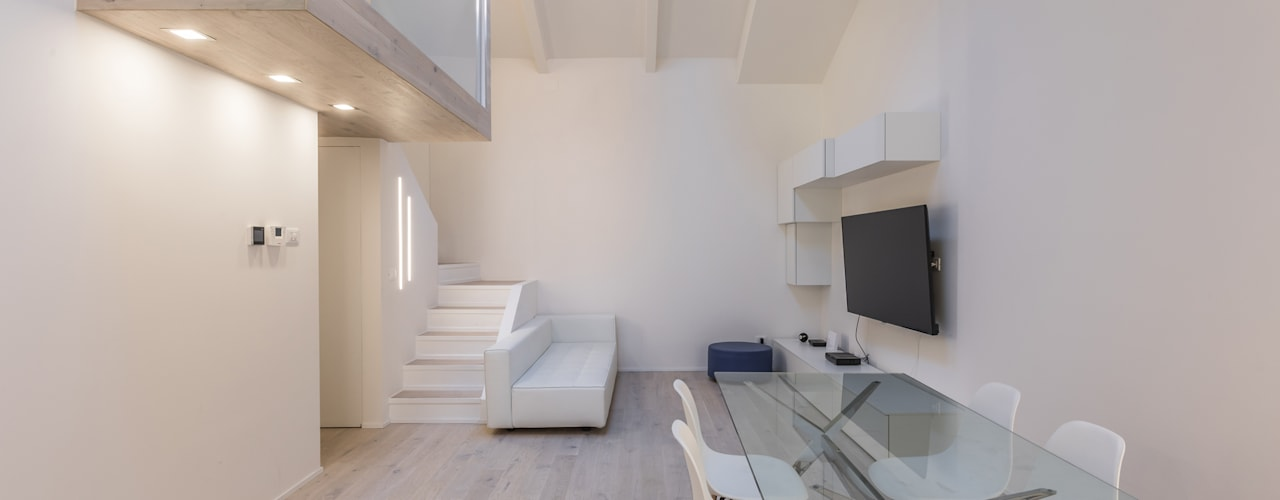 Living room by Biondi Architetti