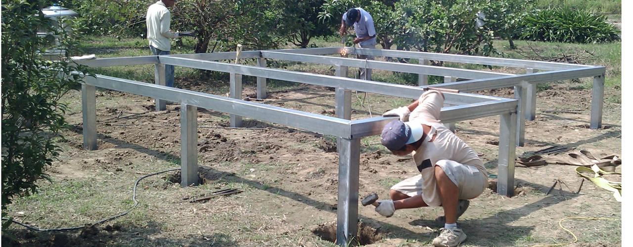 Stap voor stap een huis bouwen van hout for Koivijver bouwen stap voor stap