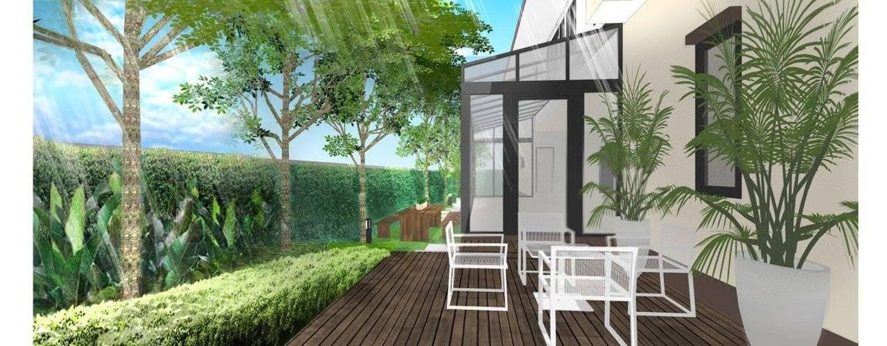 Landscape Design for Narasiri Rama 2 Thaan Studio