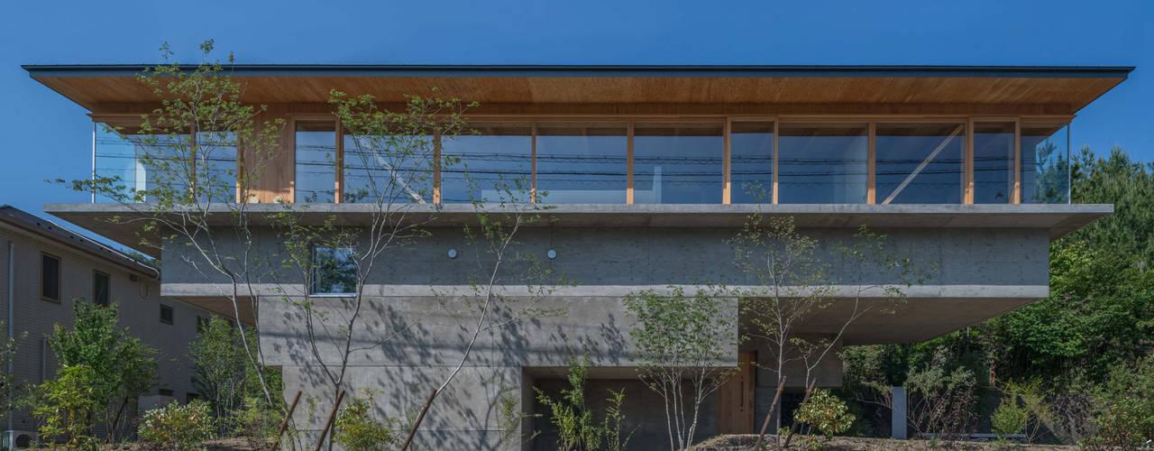 HINO モダンな 家 の 武藤圭太郎建築設計事務所 モダン