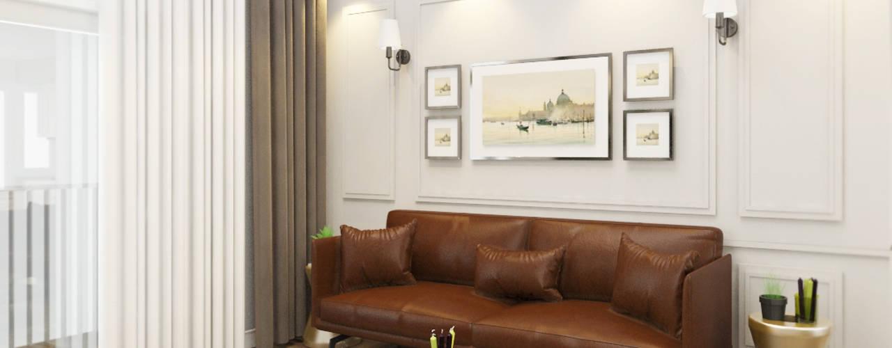 Salones de estilo moderno de Công ty trách nhiệm hữu hạn ANP Moderno