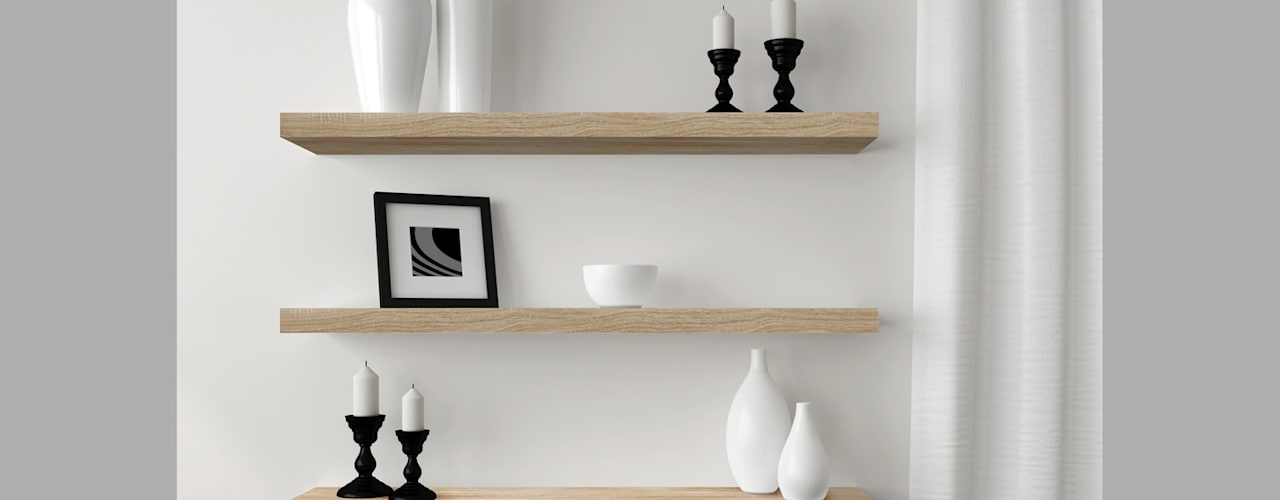 Stylish Storage Clever Ideas For Floating Shelves Homify